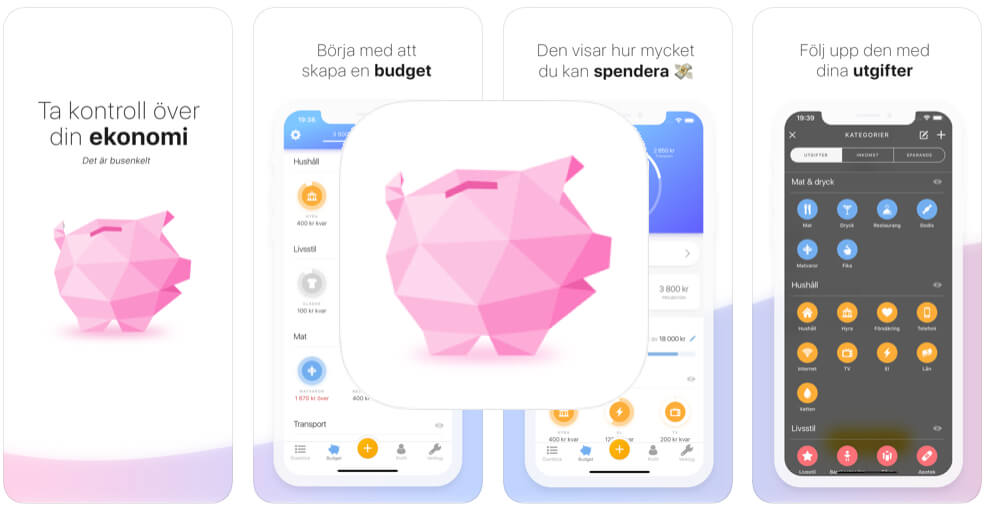 Spara pengar app Buddy