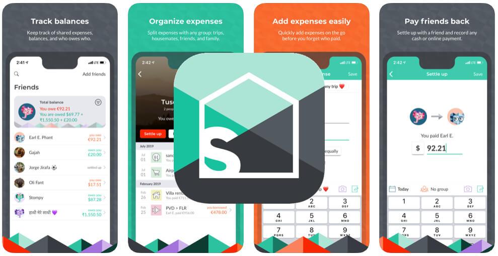 Spara pengar app Splitwise