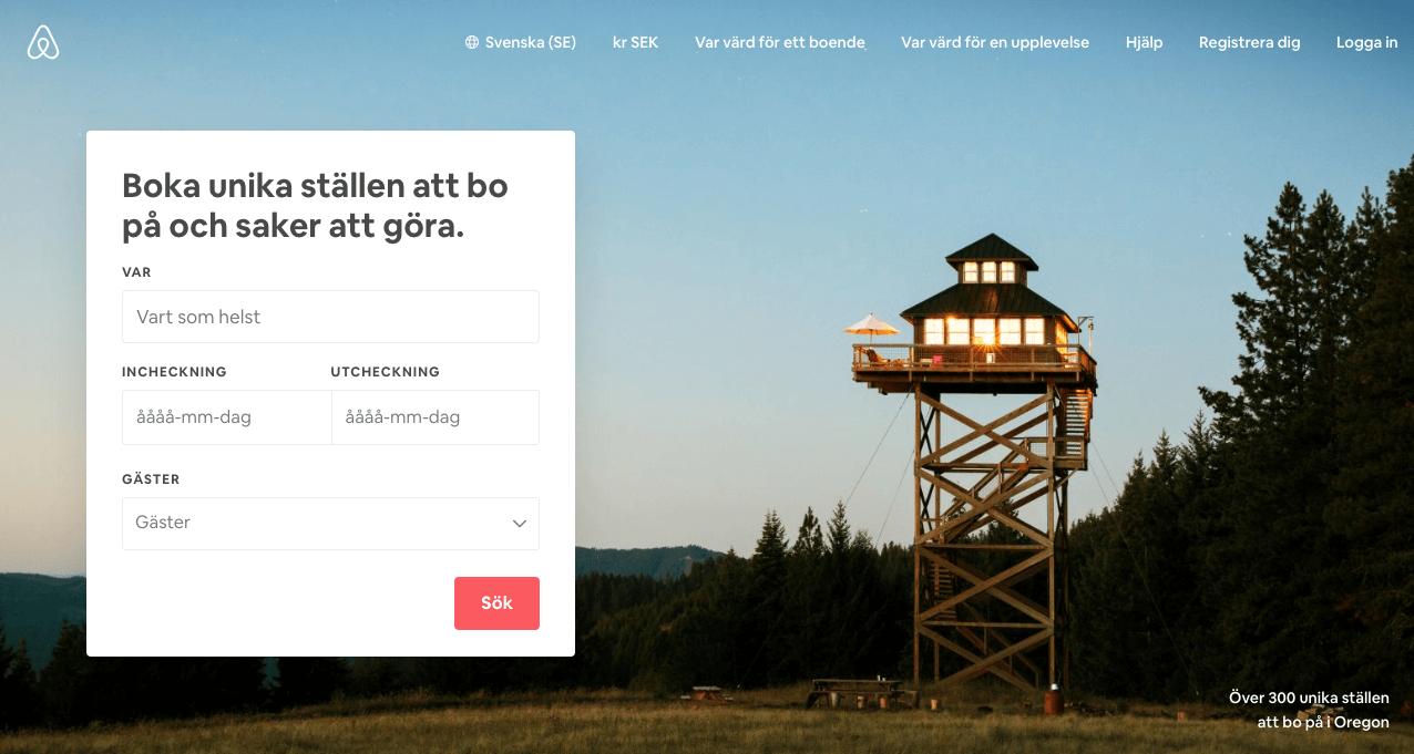 Tjäna pengar hyr ut din lägenhet Airbnb