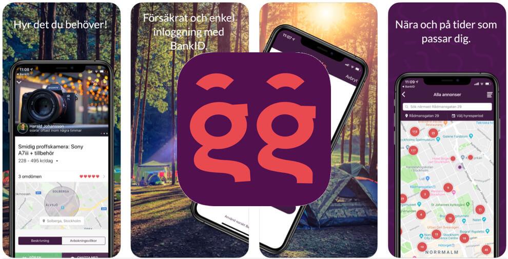 Spara pengar app Hygglo