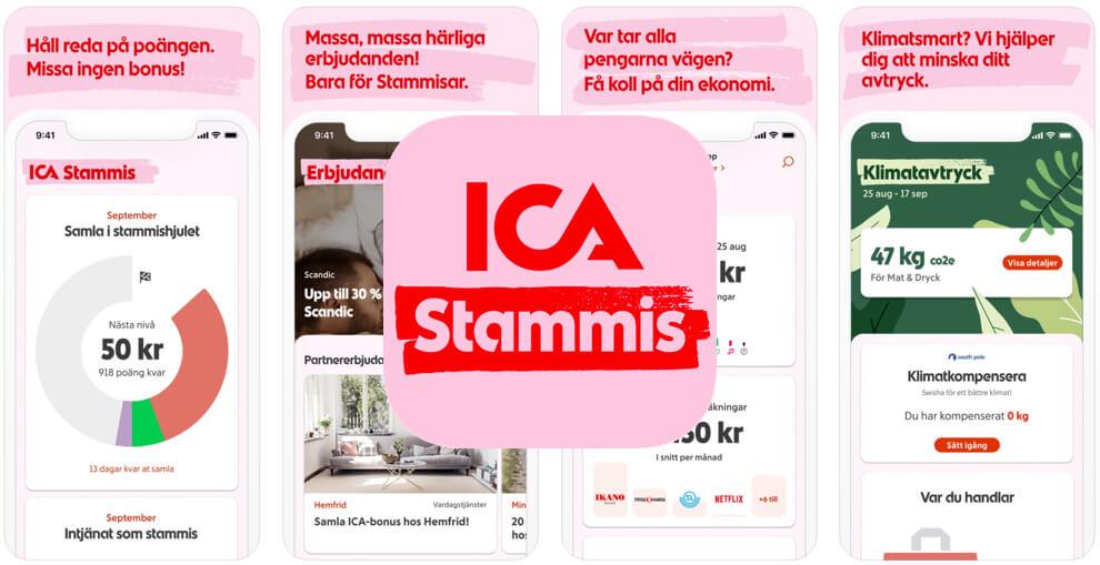 Ica Stammis app