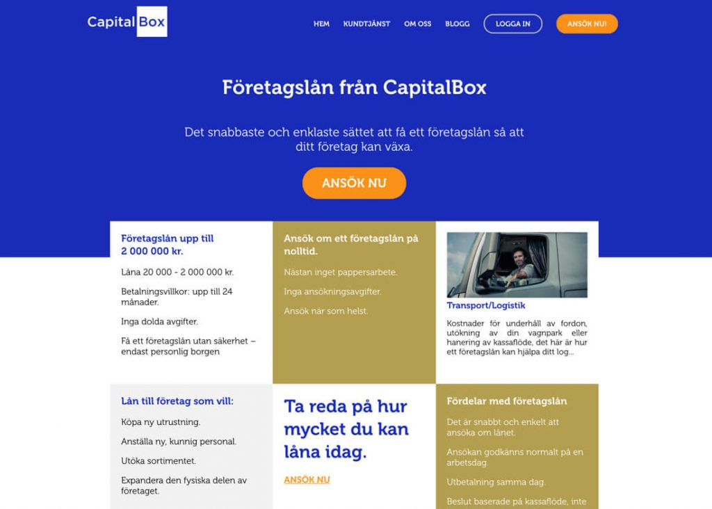 Capitalbox företagslån