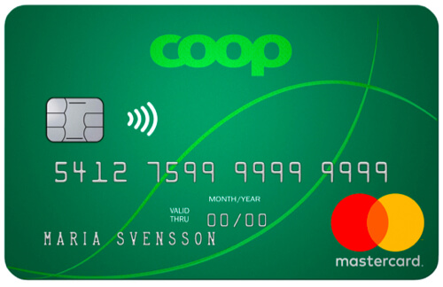 Coop Mastercard mer kreditkort