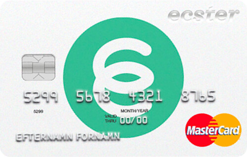 Ecster kreditkort