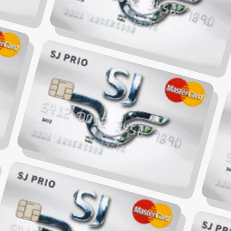 SJ Prio mastercard kreditkort
