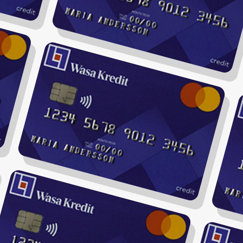 Wasa kredit kreditkort