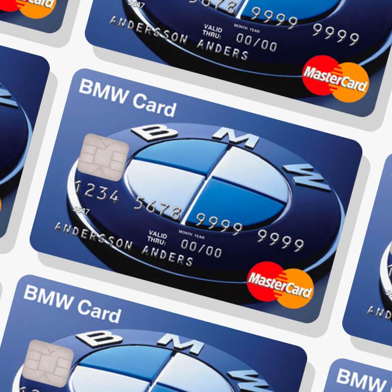BMW-kortet kreditkort
