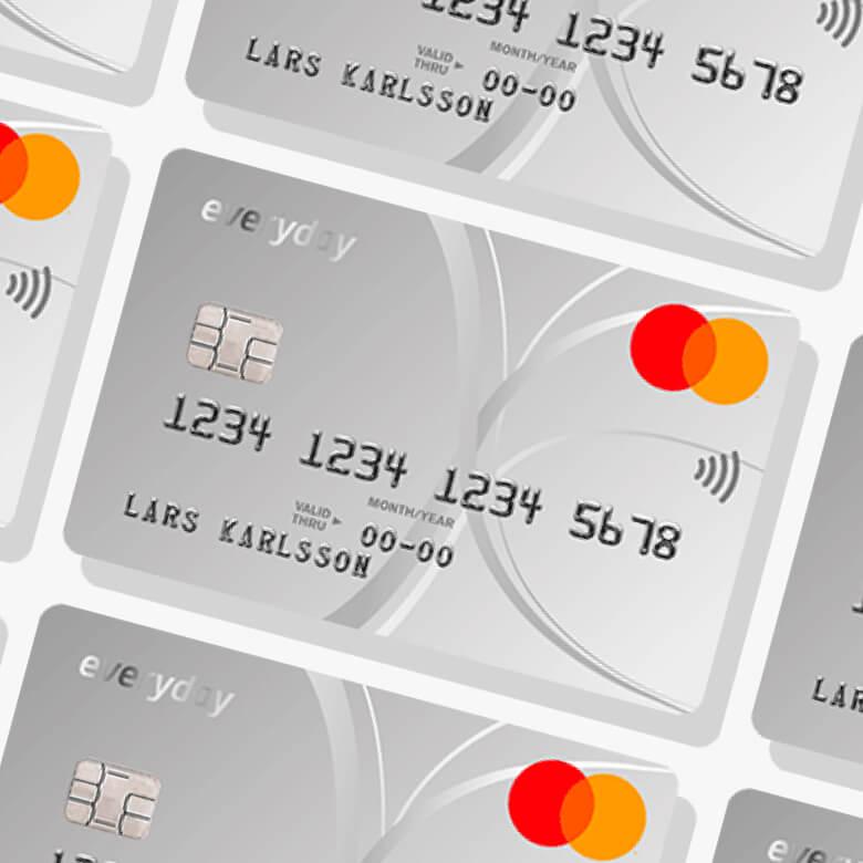 Everydaycard kreditkort