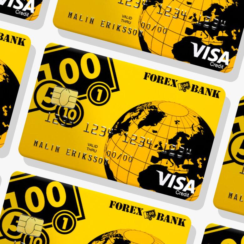 Forex betal och kreditkort