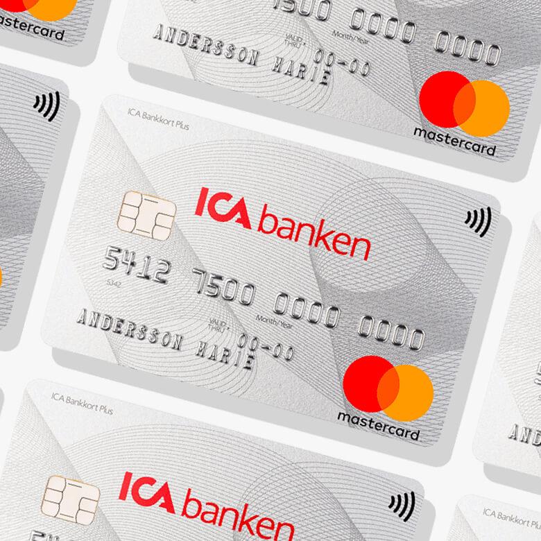 ICA Banken bankkort plus kreditkort