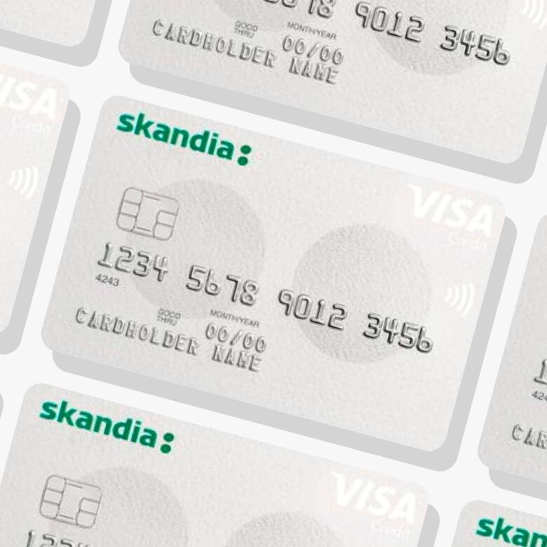 Skandiabanken Visa kreditkort
